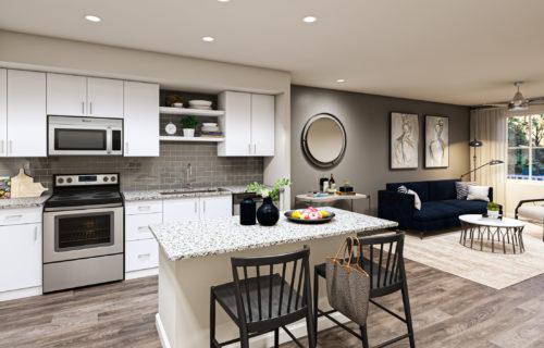 Premium Tech and Luxury Interiors at Alexan 335